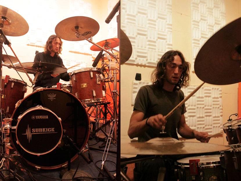 JavierDrums KILMARA Completes Recording Drums