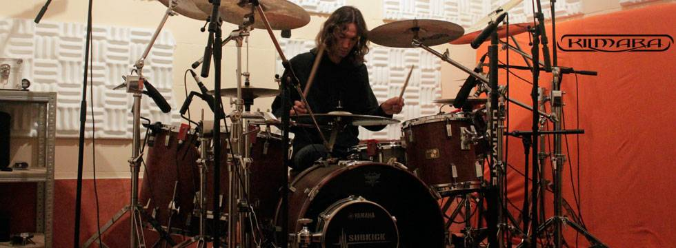 KILMARA Completes Recording Drums