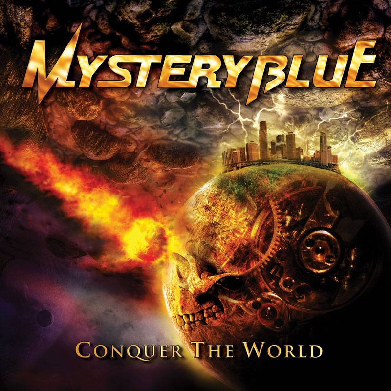 MysteryBlueConquerTheWorld MYSTERY BLUE   Album Release, Cover Revealed