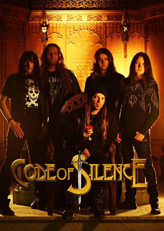 CodeOfSilenceBand CODE OF SILENCE signs with Mausoleum/Rubicon