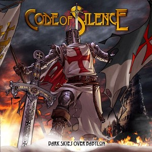 DarkSkiesOverBabylon 300x300 Code Of Silence   Introducing Band & Album