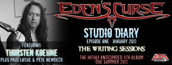 Edens Curse Studio Diary
