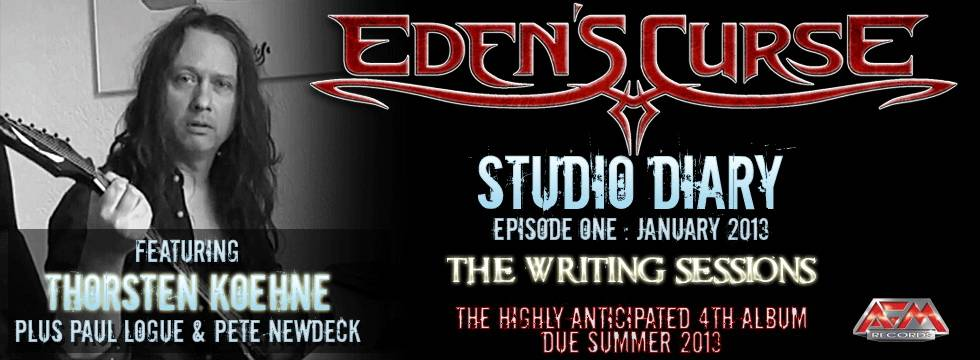 Eden's Curse – First Studio Video Diary episode posted