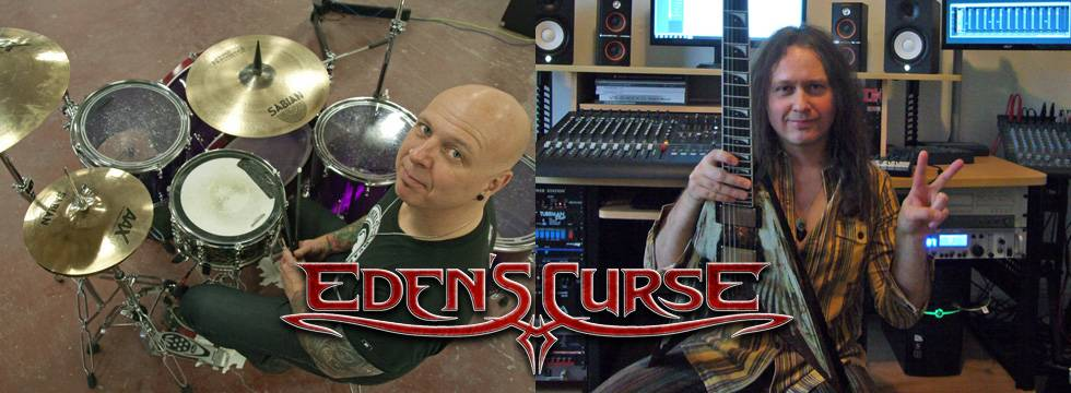 EDEN'S CURSE Begin Recording New Album