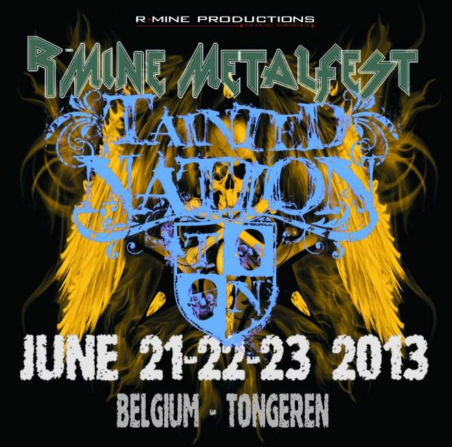 Tainted Nation R-Mine Metalfest 2013