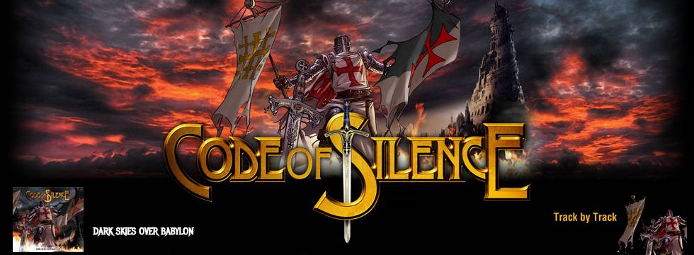 Code Of Silence - Track By Track Video Posted Online