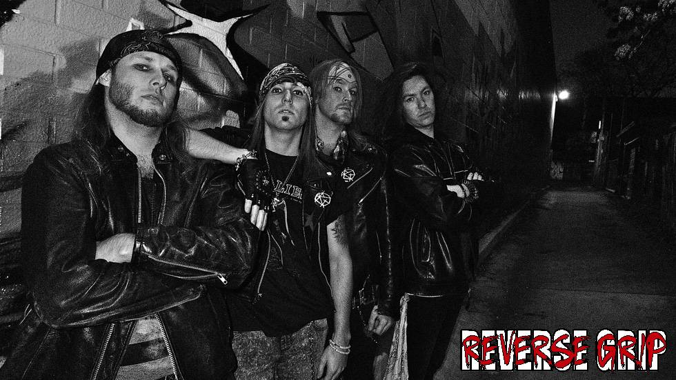 ReverseGripBand REVERSE GRIP signs with ROCK N GROWL
