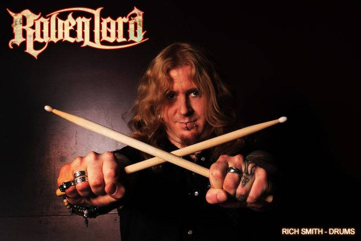RichSmithDrums Raven Lord annouce Rich Smith (Power Quest) as new drummer