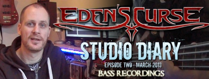 Eden's Curse Second Studio Diary Video