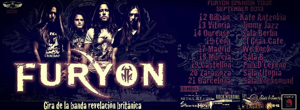 FURYON To Announce Tour Dates In Spain