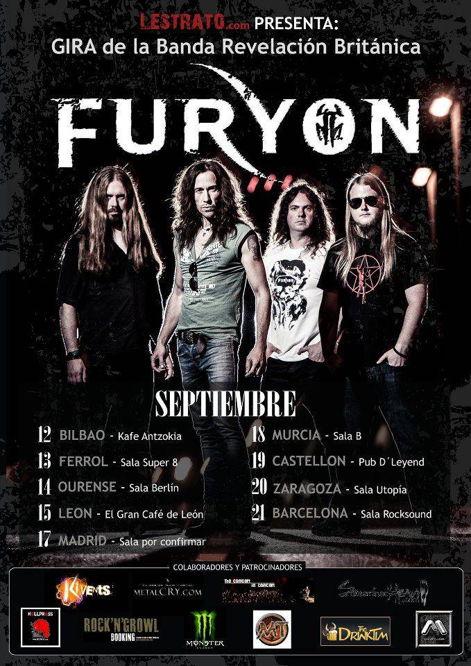 Furyon Tour September Spain