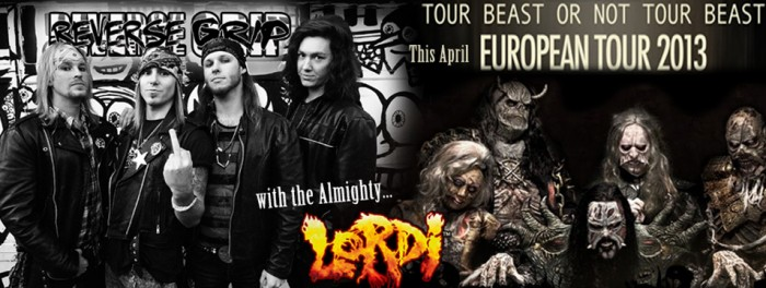 Reverse Grip Lordi Tour