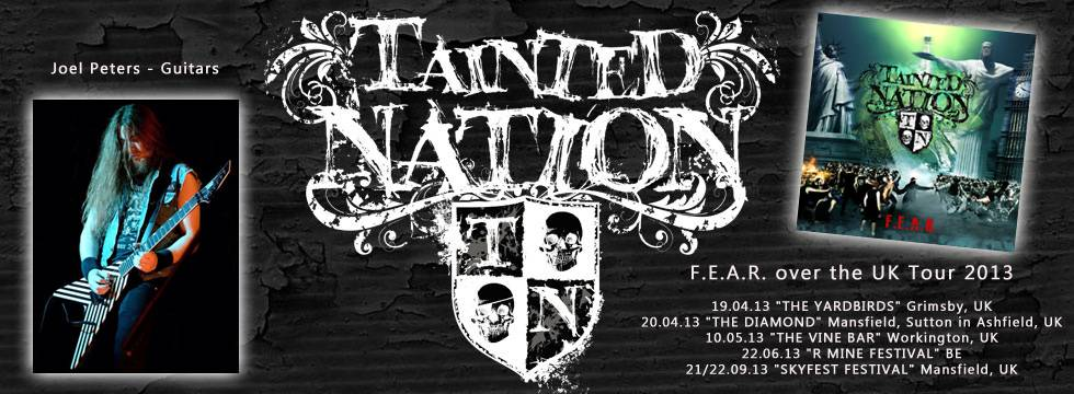 TAINTED NATION Announces New Guitarist