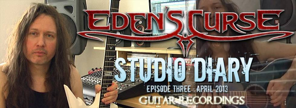 Eden's Curse 3rd Studio Video Diary Posted