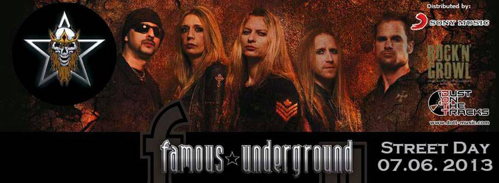 FAMOUS UNDERGROUND Reveal Cover, Tracklist