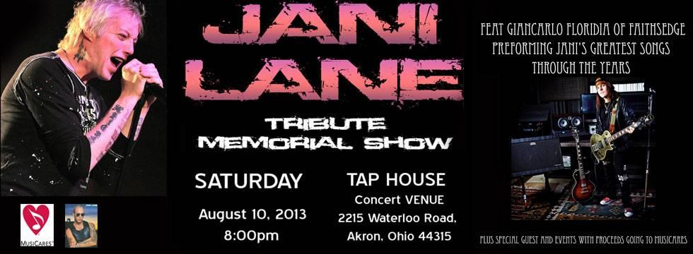 Jani Lane Tribute Show feat Faithsedge Singer