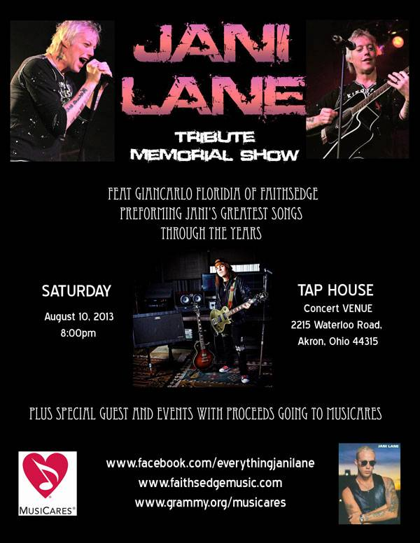Jani Lane Tribute Show