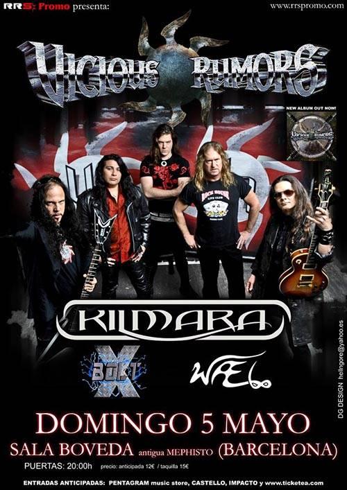 Kilmara Live In Spain