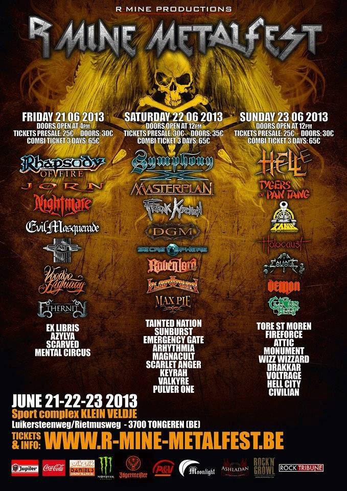 R-Mine Metalfest 2013