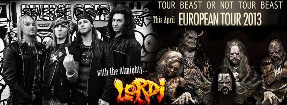 Lordi Tour with Reverse Grip