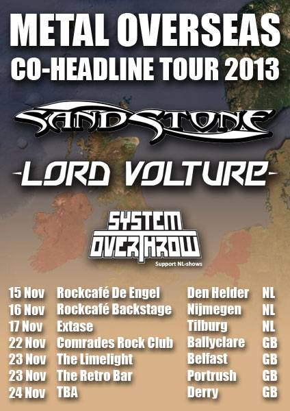 lordvolturetour LORD VOLTURE announce NL/GB Tour