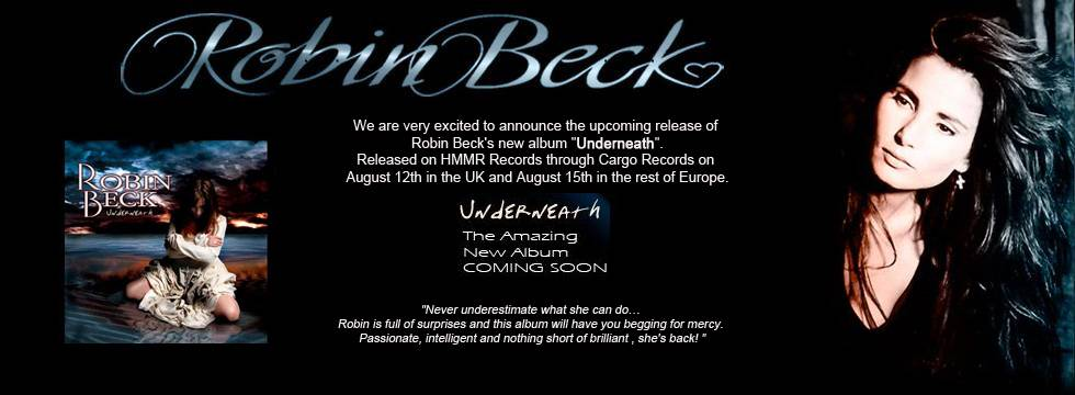 "ROBIN BECK New Album Release ""Underneath"""