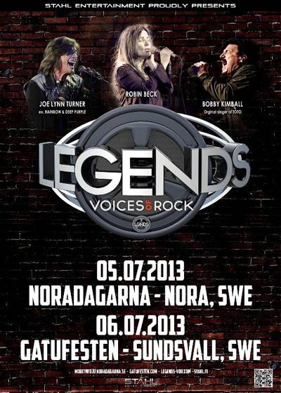 LEGENDS Voices of Rock