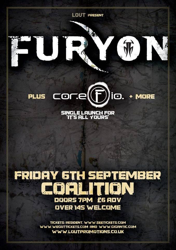 Furyon Live Brighton