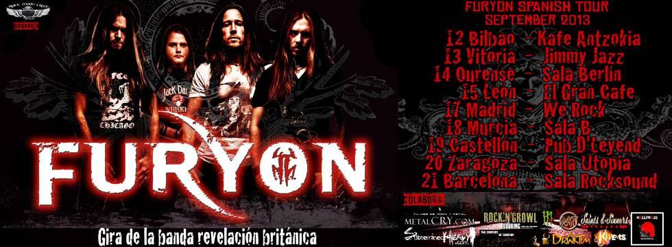 Furyon TourSpain 2013