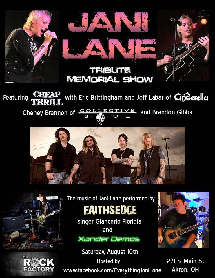 Jani Lane Tribute Show