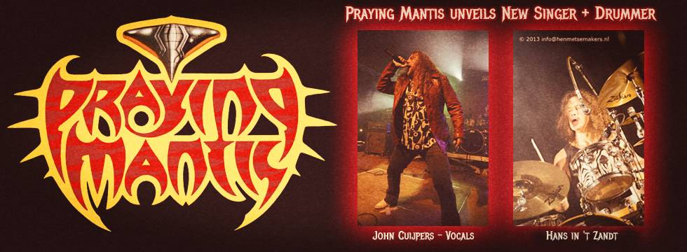 ROCK N GROWL - HARD N HEAVY METAL PROMOTION PRAYING MANTIS Unveils New Lineup