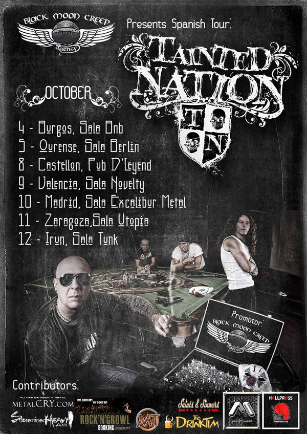 Tainted Nation Tour Spain
