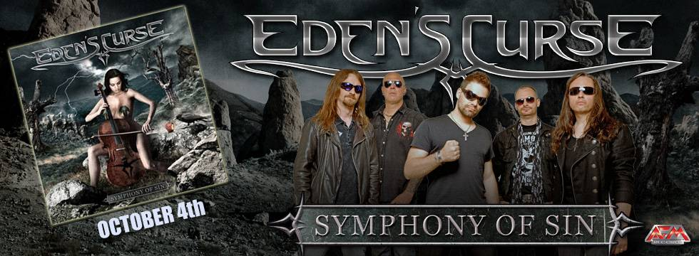 Eden's Curse Reveal New Album Artwork, Tracklist