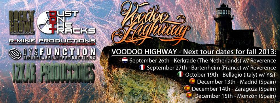 Voodoo Highway European Tour Dates