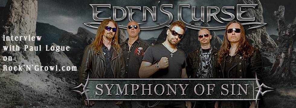 EDEN'S CURSE Talks To Rock'N'Growl