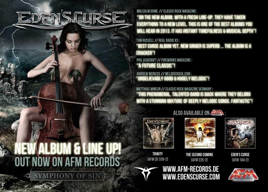 Eden's Curse New Album