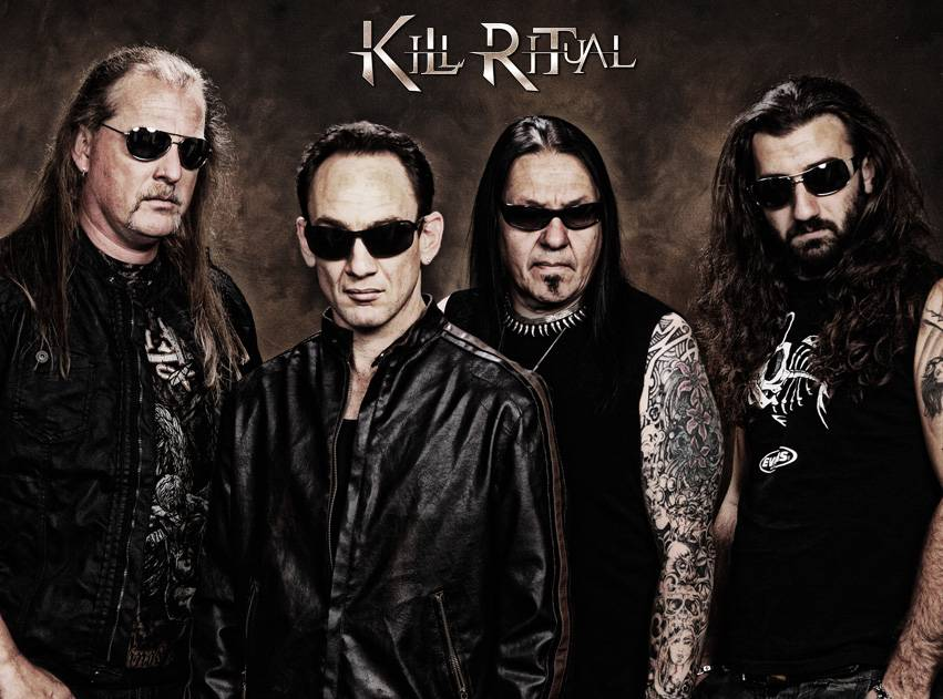 ROCK N GROWL - HARD N HEAVY METAL PROMOTION KILL RITUAL Completes Recording Second Album