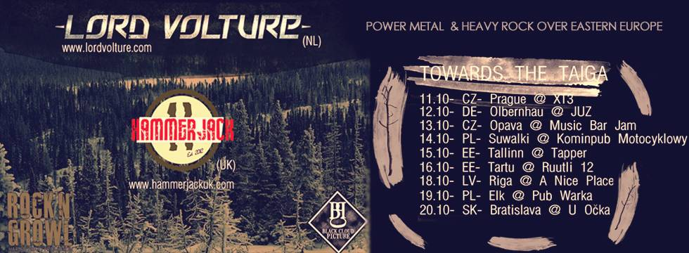 Lord Volture Tour Eastern Europe