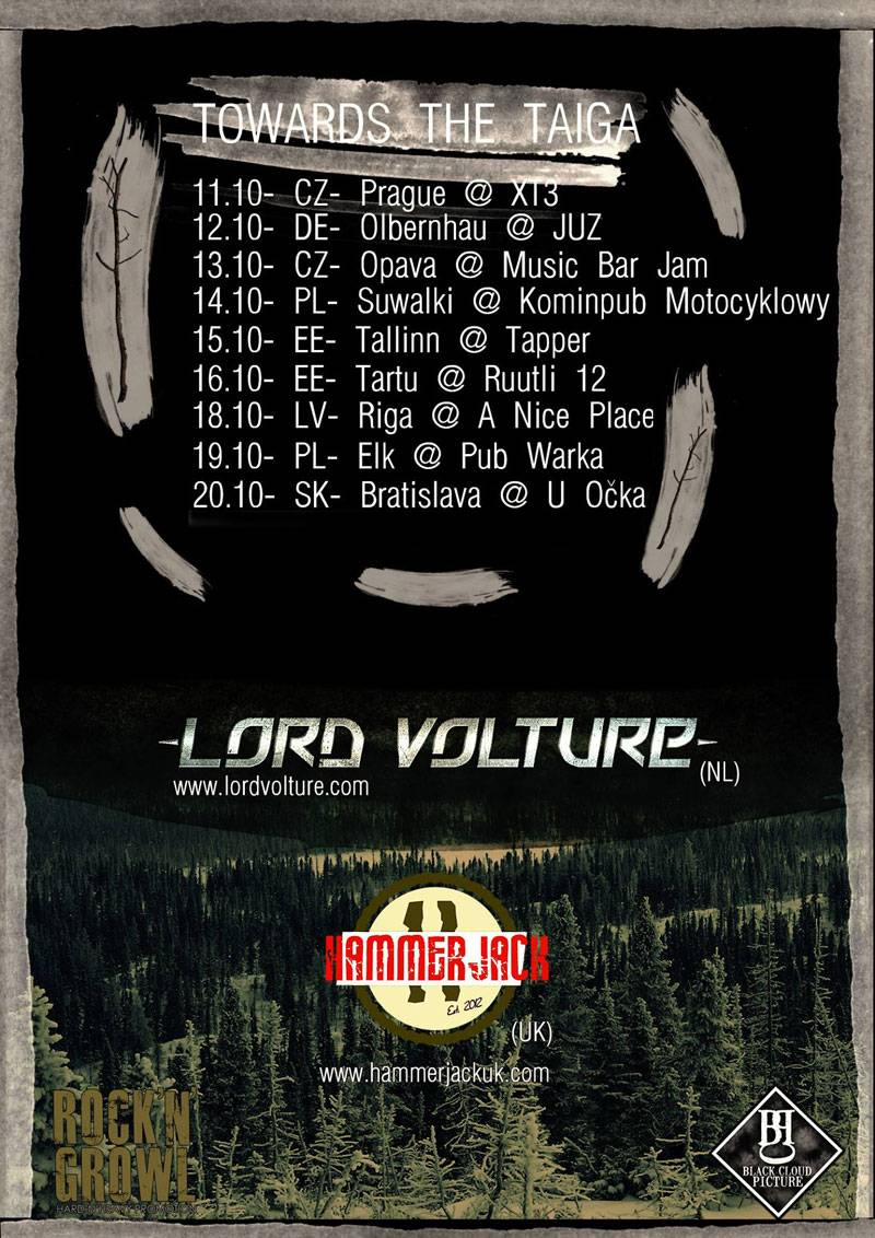 LordVoltureTourPoster Lord Volture Tour Eastern Europe