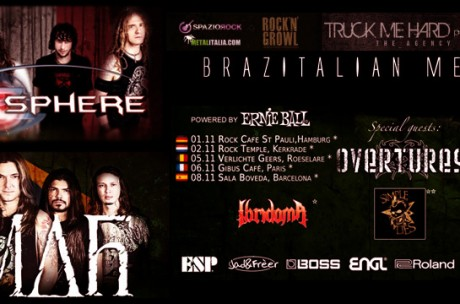 Secret Sphere * Almah Tour 2013