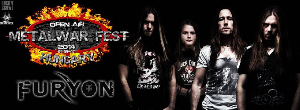 Furyon to play MetalWar Fest 2014