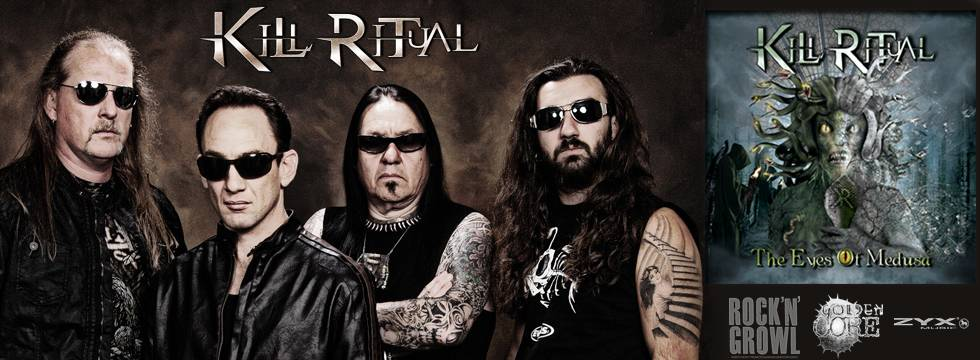 Kill Ritual Unveil 'The Eyes Of Medusa' Cover