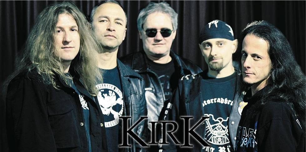 ROCK N GROWL - HARD N HEAVY METAL PROMOTION Kirk - New Album Title, Cover, Release Date