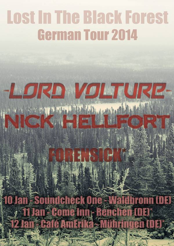 LordVoltureGermany Lord Volture Video New Album Photoshoot