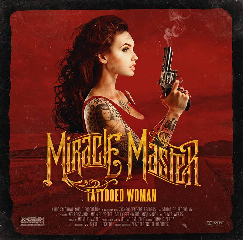 MiracleMasterTattooedWoman Miracle Maters Debut To Receive Japanese Release