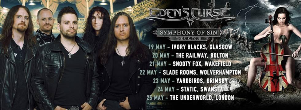 Eden's Curse New Drummer