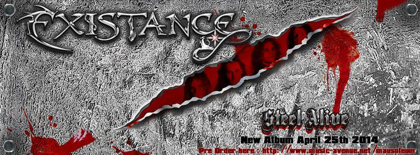 ExistanceMetal EXISTANCE Unveil Cover Artwork, Tracklist