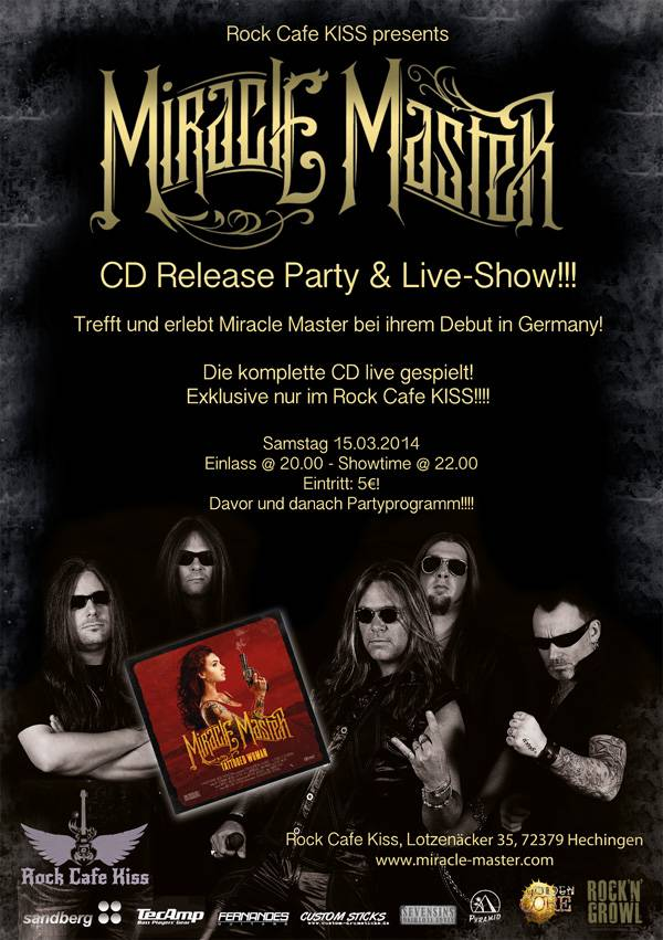 Miracle Master CD- Release Party