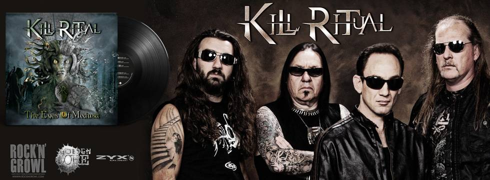 Kill Ritual 'The Eyes Of Medusa' Vinyl Release