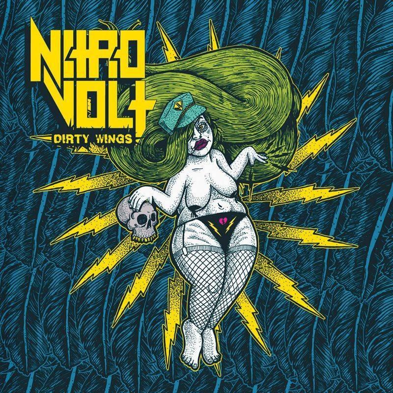 ROCK N GROWL - HARD N HEAVY METAL PROMOTION NitroVolt Unveil 'Dirty Wings' Artwork